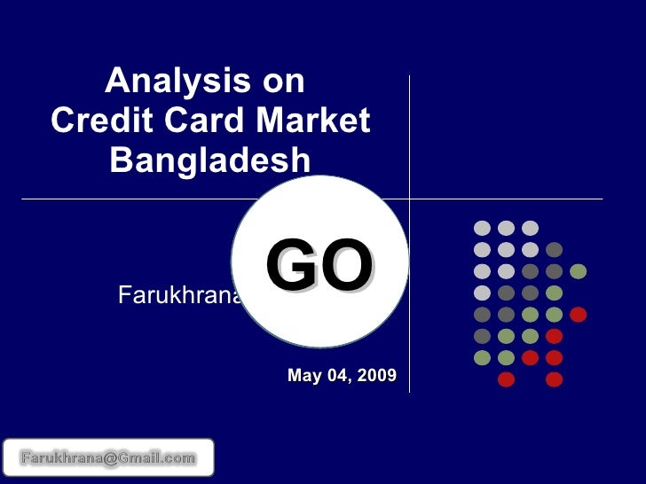 an analysis of the attractive markets for credit card development Credit card development strategies for the youth market: the use of conjoint analysis article (pdf available) in international journal of bank marketing 12(6):30-36 september 1994 with 635 reads.