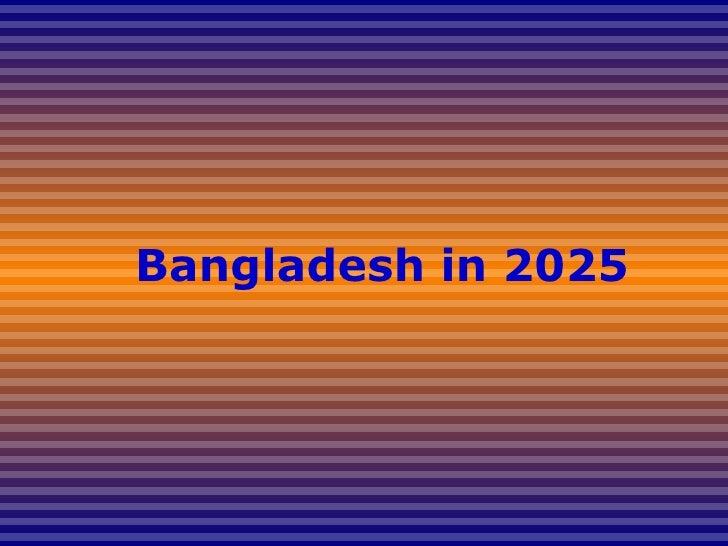 Bangladesh in 2025