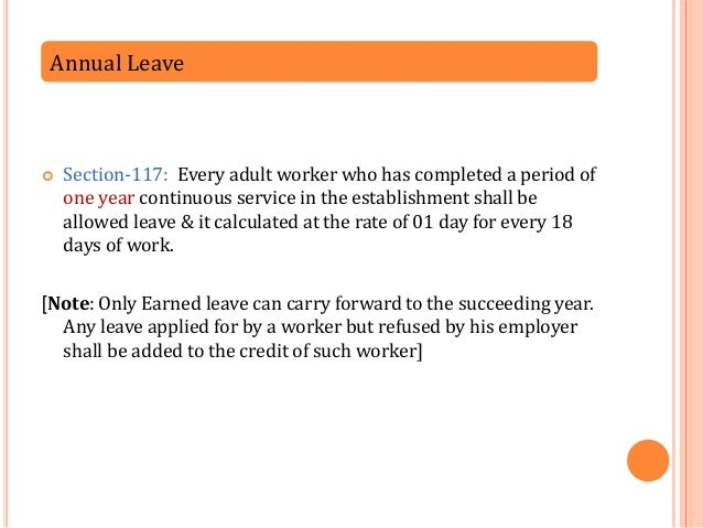 how to tax annual leave