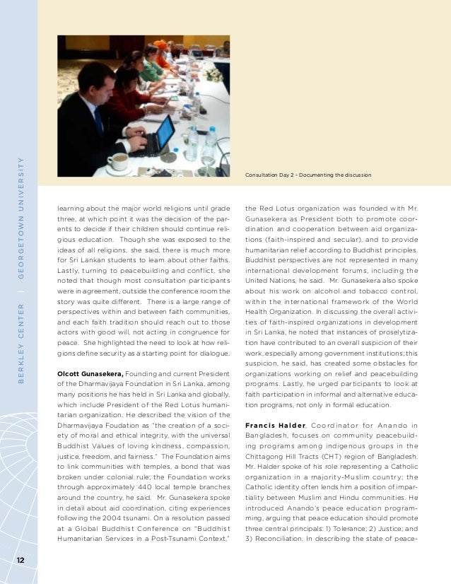 world religion report The world report is a semiannual report of news events around the world pertaining to the church of jesus christ of latter-day saints (mormons.