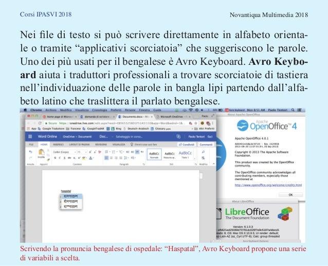 Lingue orientali e font: applicativi standard multipiattaforma Slide 3