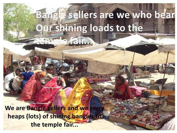 The Bangle Sellers - Poem by Sarojini Naidu