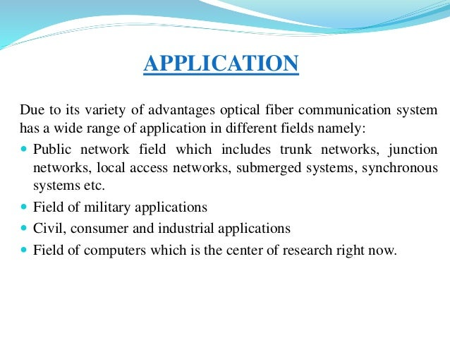 Optical fiber communication ppt.