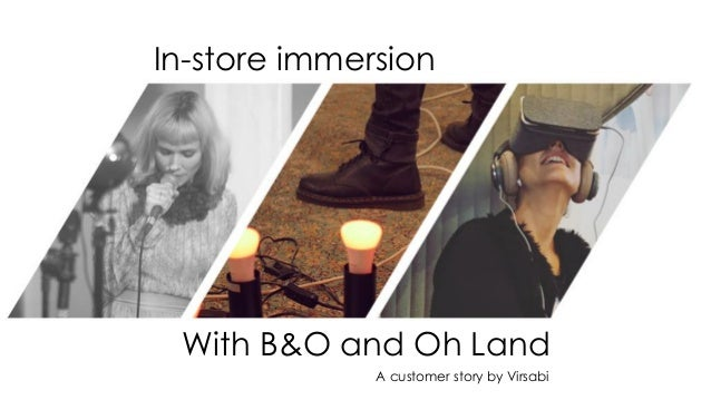 In-store immersion With B&O and Oh Land A customer story by Virsabi