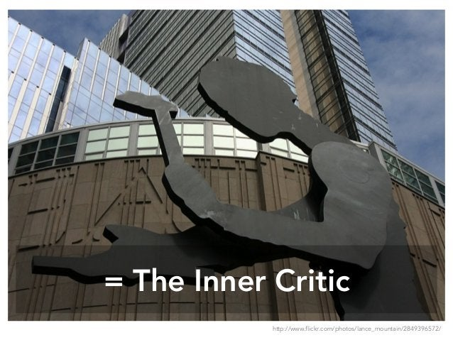 = The Inner Critic http://www.flickr.com/photos/lance_mountain/2849396572/