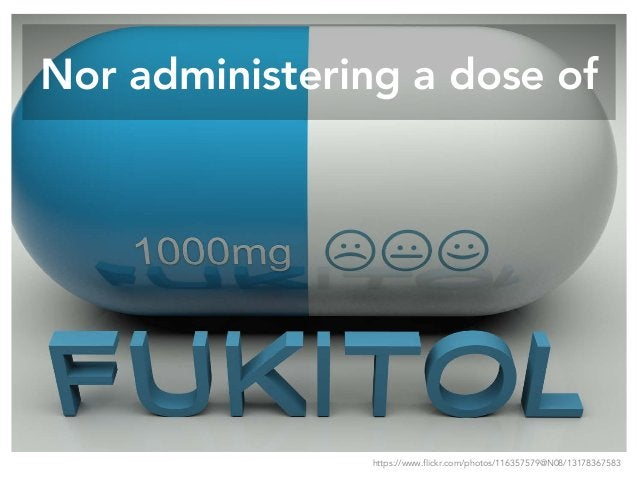 Nor administering a dose of https://www.flickr.com/photos/116357579@N08/13178367583