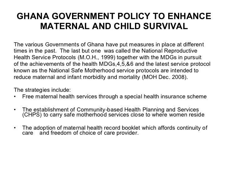 AWDF Woman of Substance on Maternal Health in Ghana