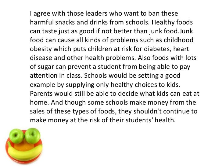 junk food advertising children essay Firstly, ban junk food advertising will not get a real and definitive change in the eating habits of children rather than a solution it is a great challenge that couldn't be achieved by means of laws that only focuses on things children shouldn't be eating, instead of focusing on promoting healthy tips.