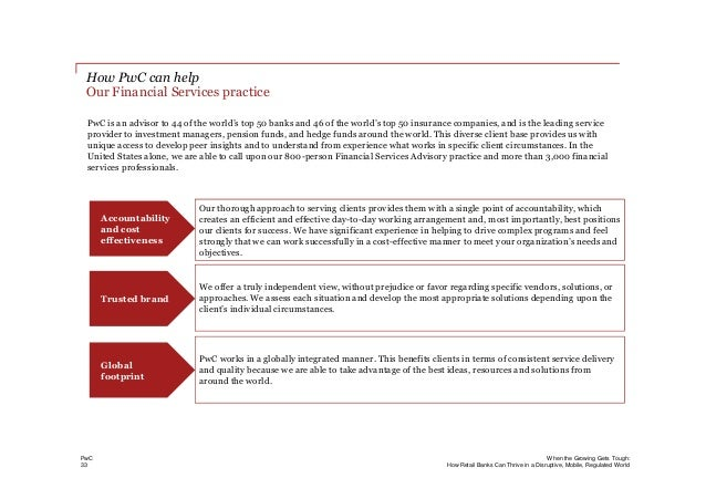 Bank innovation pwc study on when the growing gets tough how retai and compliance frameworks 34 freerunsca Gallery