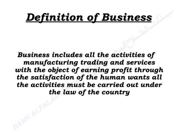 customer satisfaction of bank alfalah 1 presentation of accounting presented to:prof nadeem baig 2 definition of businessbusiness includes all the activities ofmanufacturing trading and serviceswith.