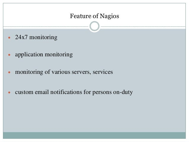 An internship presentation bank asia for Nagios email notification template