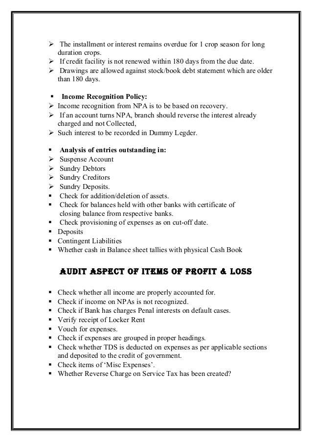 Bank audit slideshare 17 yelopaper Choice Image