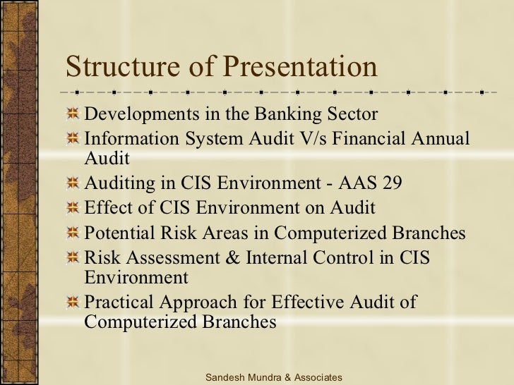 auditing in cis environment Computer assisted audit techniques readers' rating: 4 out of 5 by john yu, cdp, fcga as i previously reported, in march 2000, the international audit practice committee (iapc) of ifac.