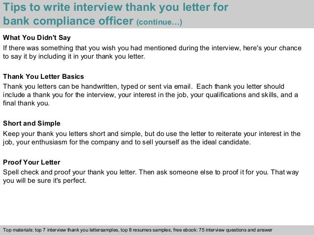 simple interview thank you email