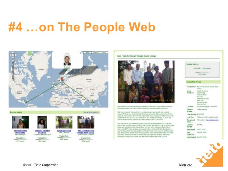 #4 …on The People Web<br />Kiva.org<br />