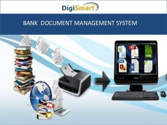 BANK DOCUMENT MANAGEMENT SYSTEM