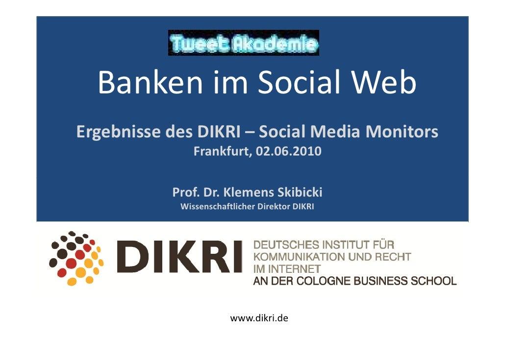 Prof. Dr. Skibicki - Präsentation der aktuellsten Studie des DIKRI