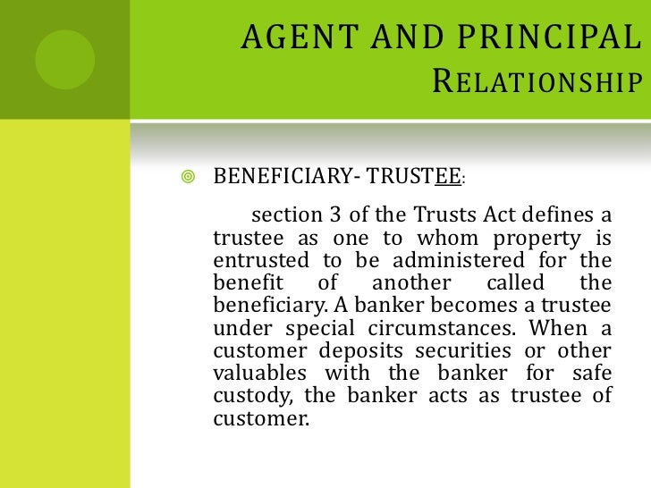 banker customer relationship Customer no having a bank account, but having a relationship with bank who is the banks customer when one 'financial institution' is collecting money on behalf of another, then it is no longer important to establish that the other institution is a customer.