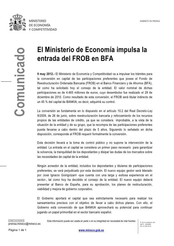MINISTERIO                                                                                               GABINETE DE PRENS...