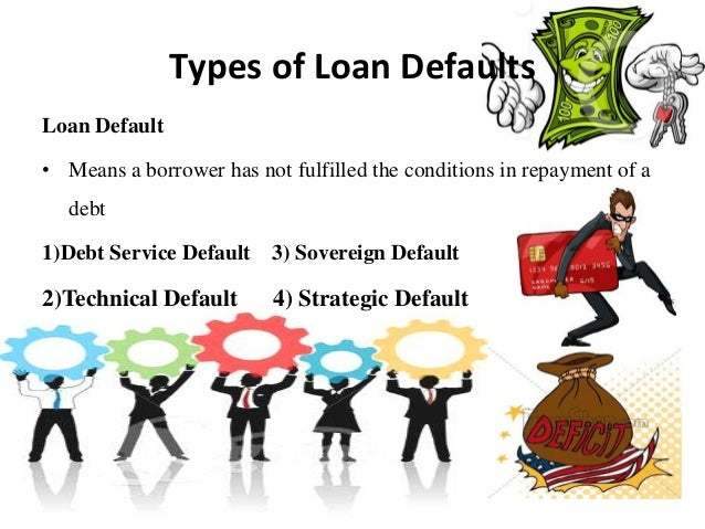 loan classification provisioning and debt default Classification must apply to all direct and indirect credit facilities including loans overdraft accounts property acquired by the bank in satisfaction of debts previously contracted and off-balance sheet.