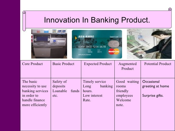 product innovation in banking industry From banks to banking - a new era of customer focused innovation in financial services - bill gates once said that banking will always be needed but banks.