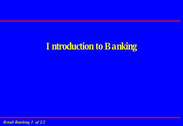 Banking Overview Slide 2