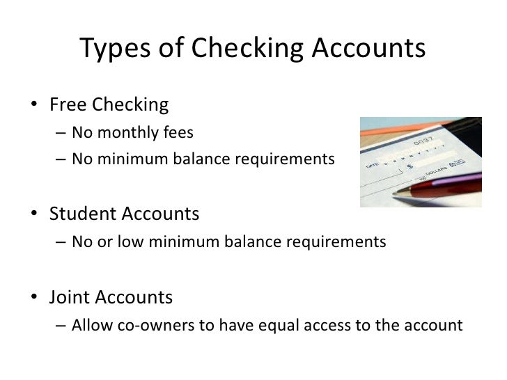5 Different Types of Bank Accounts