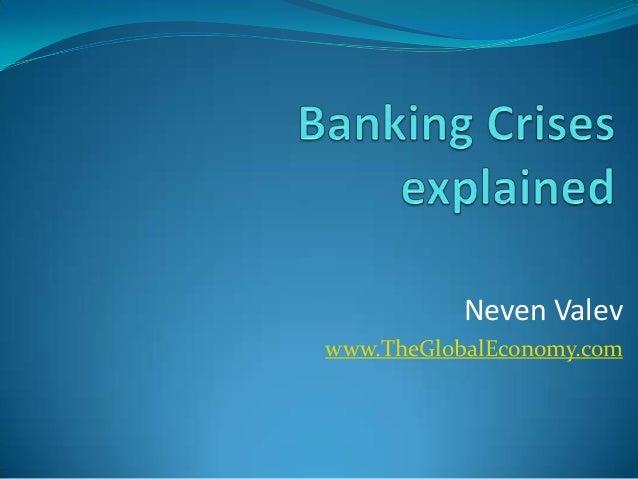 Neven Valev www.TheGlobalEconomy.com