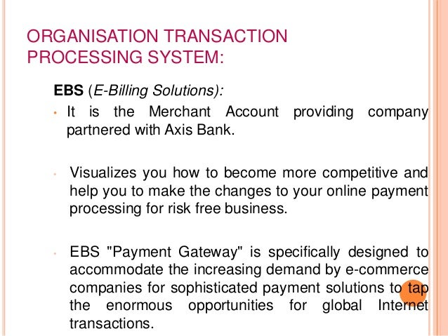 information systems in banking A look at the management information systems (miss) used in the banking sector.