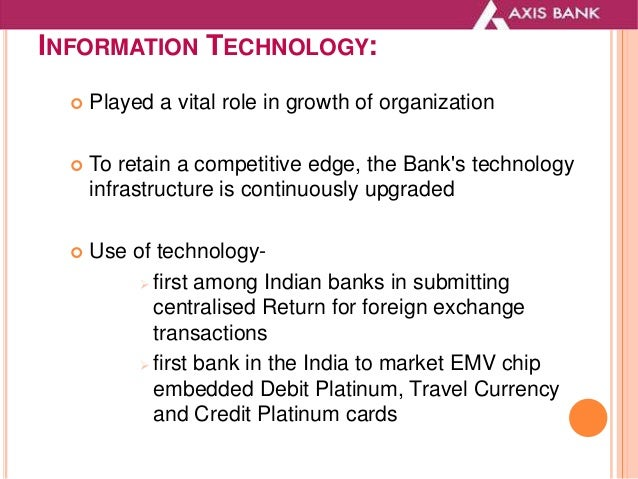 The Impact of Information Technology in Banking Industry