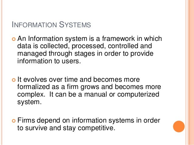 information systems in banking