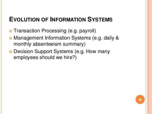 Management Information Systems In The Banking Sector