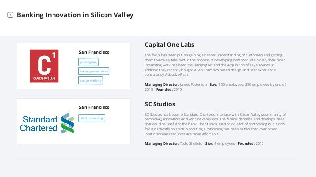 Bank Labs in Silicon Valley Slide 2
