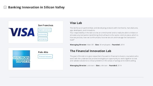 Bank Labs in Silicon Valley Slide 3