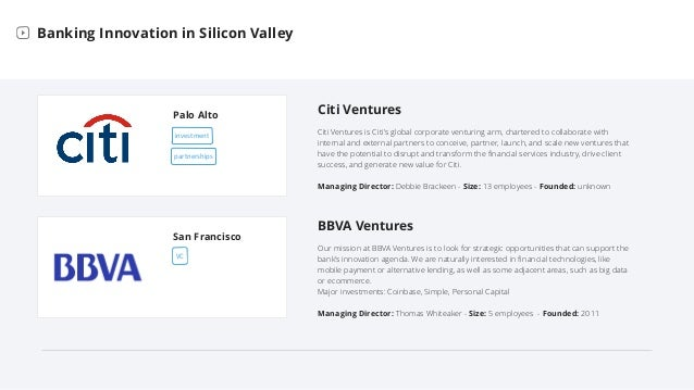 Bank Labs in Silicon Valley Slide 6