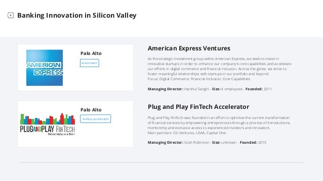 Bank Labs in Silicon Valley Slide 7