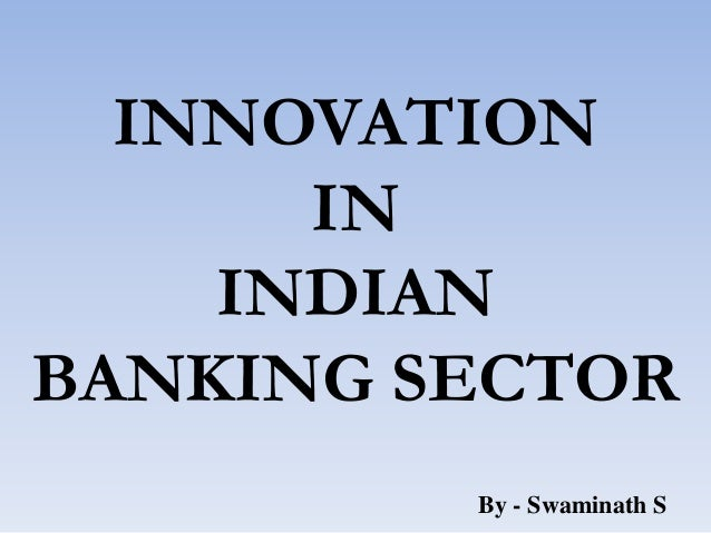 Innovations in banking sector