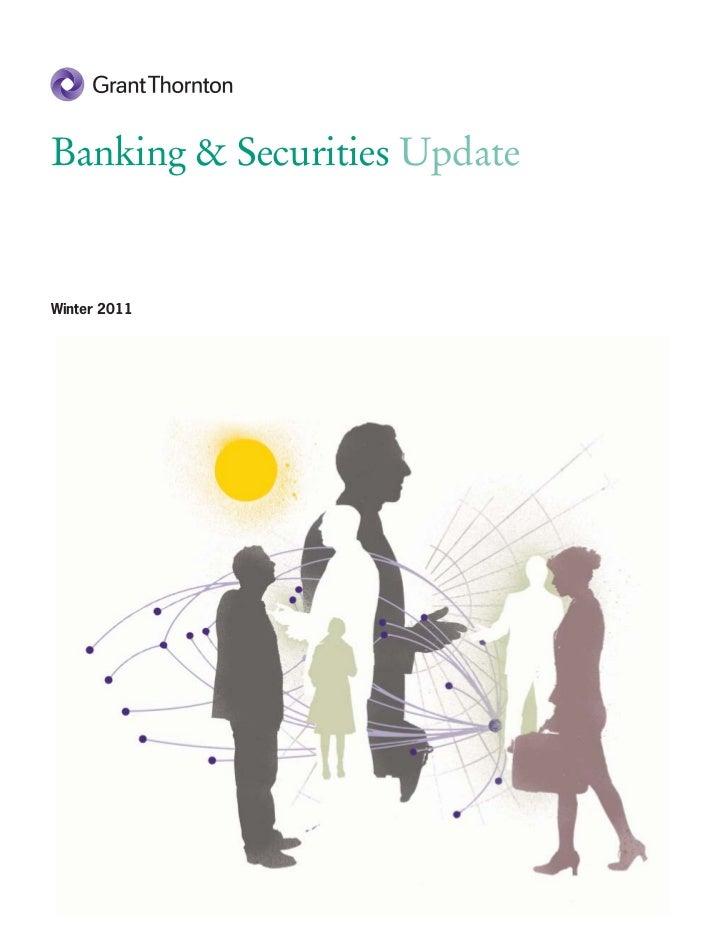 Banking & Securities UpdateWinter 2011