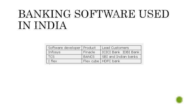 Banking software india