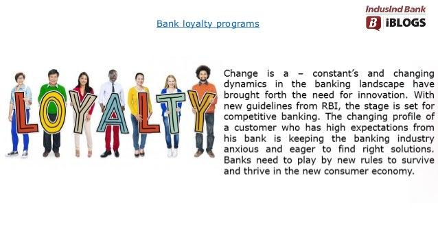 Bank loyalty programs