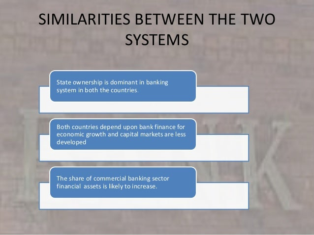 Comparative study of two banks