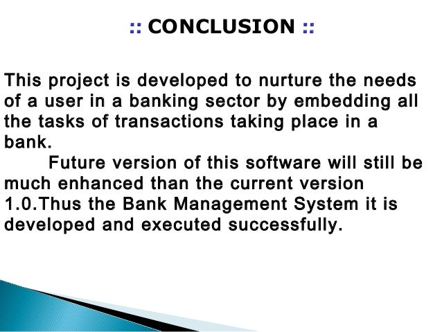 Bank    management    system with java