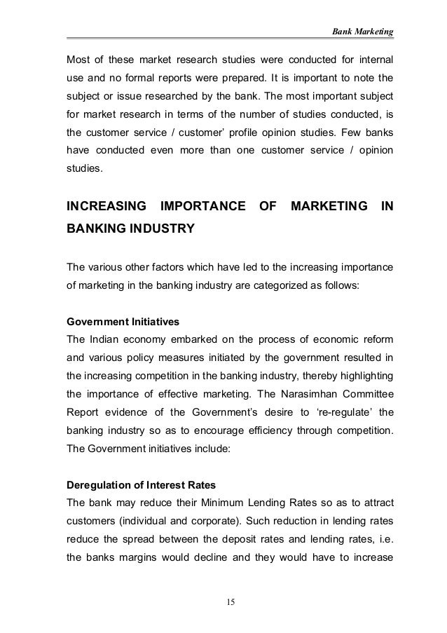 importance of customer service in banking industry