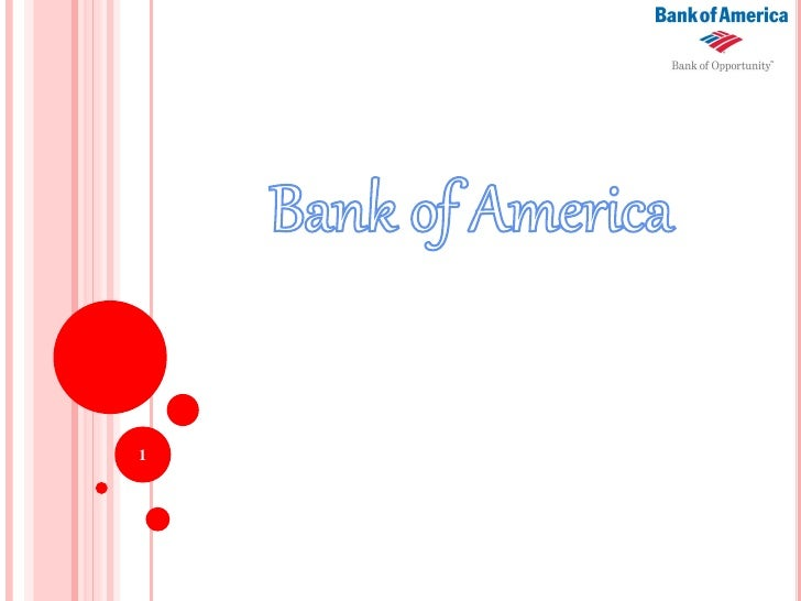 Bank of America presentation Slide 1