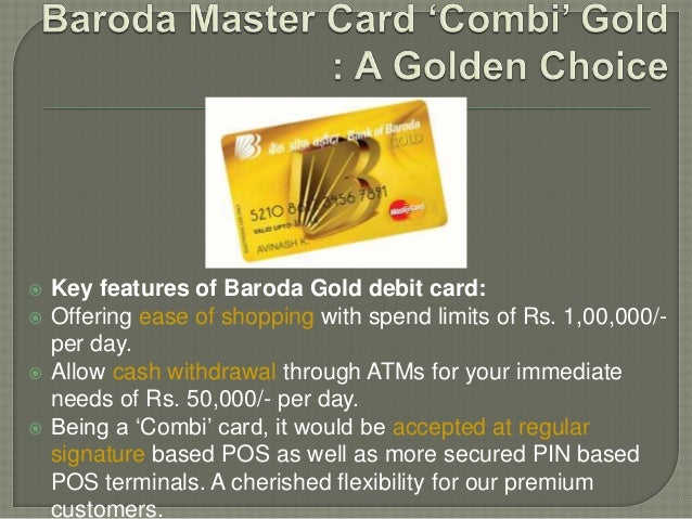 bank of baroda rupay debit card annual fee