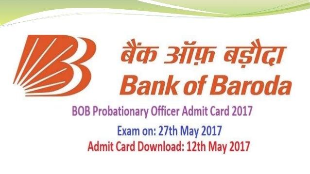 apply online bank of baroda po