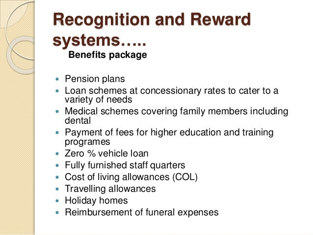 Rewarding Systems for employees in Bank of Ceylon