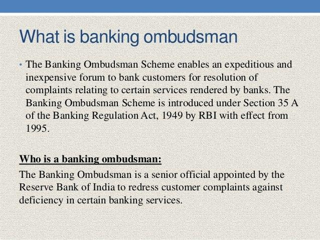 Ombudsmann Bank