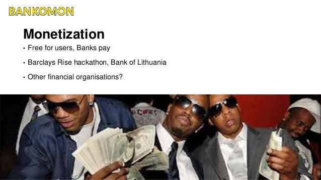 Bankomon hackathon project - pitch presentation