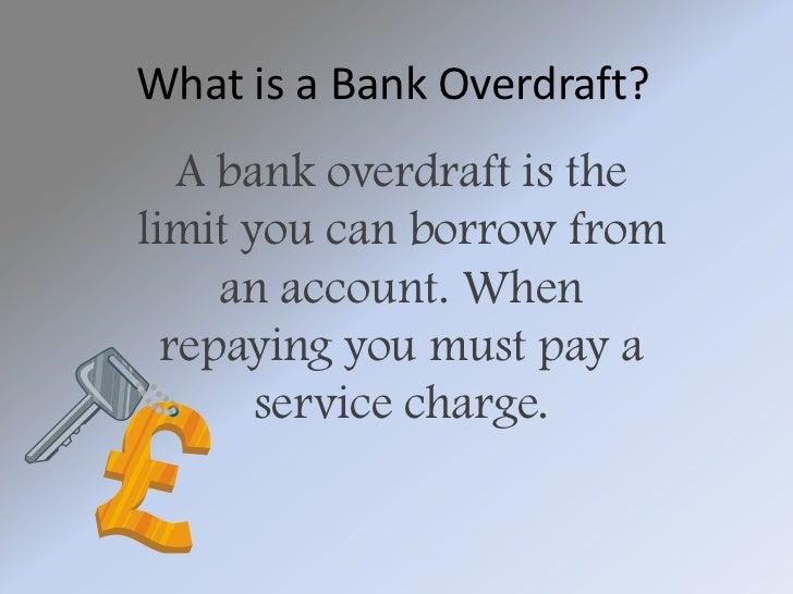 business definition bank overdraft